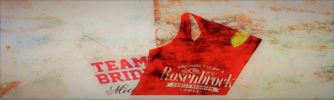 Design Your Own Screen Printed T-Shirts! Choose Style, Design, Text & Colors